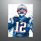 Tom Brady New England Patriots Poster FREE US SHIPPING $25.0 USD on eBay