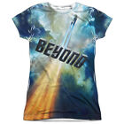 "Star Trek: Beyond ""Into The Clouds"" Dye Sublimation Girl's Junior Tee"