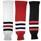 Chicago Blackhawks Knitted Classic Hockey Socks - Red Black White $15.99 USD on eBay