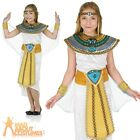 Girls Cleopatra Costume Child Egyptian Queen Fancy Dress Toga Book Day Outfit