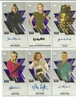 2016 Topps Doctor Who Tenth Doctor Adventures Widevision Autograph Card