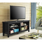 """Walker Edison Furniture 58"""" Wood TV Stand Console"""