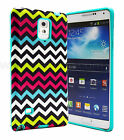 Shockproof Rugged Hybrid Rubber Hard Cover Case for Samsung Galaxy Note 4