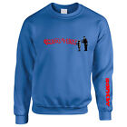 Banksy Ghetto 4 Life Mens Sweater Jumper Sweatshirt Graffiti Art TS398