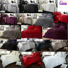 LUXURY BEDDING WITH PILLOW CASE DUVET COVER SET SIZE SINGLE SUPER KING DOUBLE