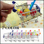 Mini Supermarket Handcar Shopping Cart Supermarket Utility Mode Storage Gift Toy