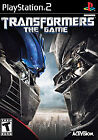 PLAYSTATION 2 TRANSFORMERS THE GAME