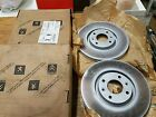 PEUGEOT 207 307 CITROEN C4 PICASSO FRONT BRAKE DISCS GENUINE NEW 424985