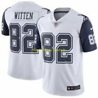 JASON WITTEN Dallas COWBOYS White NIKE Limited COLOR RUSH Throwback Jersey S-2XL
