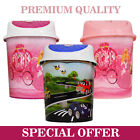 1.7LT OYSTER SHELL STYLE PLASTIC SWING BINS - AVAILABLE IN 3 DESIGNS