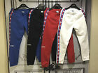 Casual C Taped Jogger Pants VTM Style Sweatpants Black White Blue Red Street