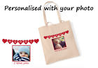 Mummy shopping bag. Personalised photo bag. Mothers Day Gift