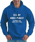 Sell My Model Planes? RC Model Plane Hoodie Pilot Flying Hobby Funny Gift