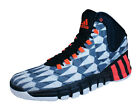 adidas Trainers Adipure Crazyquick 2 Mens Basketball Shoes - White Black