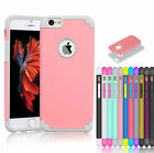 """Luxury Shockproof Rugged Rubber Hard Case Cover For 4.7"""" 5.5"""" Plus iPhone 6 / 6S"""