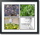 "ArtToFrames Collage Mat Picture Photo Frame - 4 8x10"" Openin"