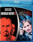 American History X  A History of Violence (Blu Ray, 2011) *new,sealed*