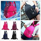 D Elegant Canvas Women's Backpack Knapsack Packsack Satchel Small School Bag