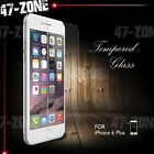 For iPhone 7 7Plus 5 5S SE 6 6S 6/6S Plus Tempered Glass Screen Protector Lot