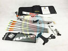 "Silver 66"" RHD Core Archery Jet Take Down Recurve Bow & Complete Package"