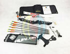 "Muddy Black 68"" RHD Core Archery Jet Take Down Recurve Bow & Complete Package"