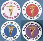 DIABETIC ALERT SERVICE DOG service dog patch PIN button
