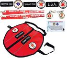 Service Dog - Therapy Dog - ESA Dog Vest Harness with Patches ALL ACCESS CANINE™