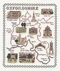 Counted Cross Stitch Map Kits - British Counties
