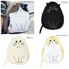 2017 Fashion Women Cat Backpack Schoolbag Bookbag Satchel Shoulder Bag Travel UK