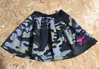 BOY LONDON Gonna felpa camouflage con stampa fluo 100% cotone MADE IN ITALY