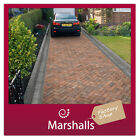 BLOCK PAVING MARSHALLS STANDARD CONCRETE 50MM COLOUR OPTIONS MIN ORDER