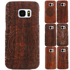Bamboo Wood Wooden PC Camera Protector Case Cover For Samsung Galaxy S7/ S7 Edge