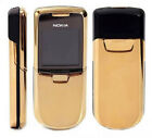 Nokia 8800 - Silver/Black/Gold - (Unlocked) Cellular Mobile Phone W/ Gift