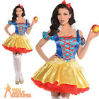 Sexy Snow White Costume Ladies Womens Fairy Tale Fancy Dress Book Week Outfit