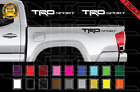 TRD SPORT Decals Toyota Tundra Tacoma Truck Bed Vinyl Stickers X2 2012-2017