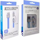 Accellorize MFI Lightning + Micro USB 3.3 Foot Combo Cable