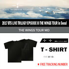 2017 BTS LIVE TRILOGY EPISODE III THE WINGS TOUR in Seoul OFFICIAL MD [T-SHIRT]