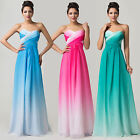 2017 Long Cocktail Party Bridesmaids Ball Gown Evening Prom Formal Maxi Dresses