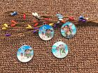LOT MIX cartoon Moana Metal Charm Pendant DIY Necklace Jewelry Making