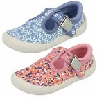 Clarks Girls Doodles Casual Shoes - Briley Bow 17