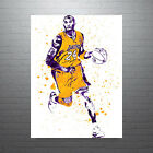 Kobe Bryant Dribbling Los Angeles Lakers Poster FREE US SHIPPING on Ebay