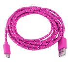 10FT 3M MICRO USB Braided charger Data Sync Cable FOR ANDROID WINDOWS BLACKBERRY