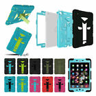 For iPad 2/3/4 Heavy Duty Case Shockproof Cover & Built In Screen Protector