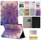 """Painted Pattern Smart Leather Stand Case For Amazon Kindle Fire 7"""" 5th Gen 2015"""