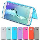 Coque Flip Cover Case Front + Back Soft Samsung Galaxy S4 S5 S6 S7 Edge Note