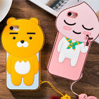 Kakao Friends Cute Body Silicone Phone Case for iphone 6,7,Plus