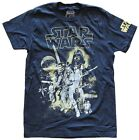 Star Wars Classic Poster Art Navy Men's T-Shirt New $12.59 USD on eBay