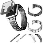 Stainless Steel Wristwatch Strap Watch Band +Case Cover for Apple Watch Series 2