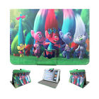 Kids Gift Trolls Flip Stand PU Leather Case Cover For Universal 7'' Inch Tablet