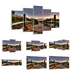 GLASS PRINTS 30 SHAPES Picture Path Countryside Sky 0143 UK